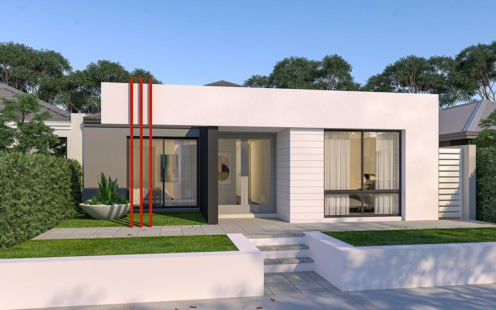 single storey home plans perth the farmhouse On 10m frontage home designs perth